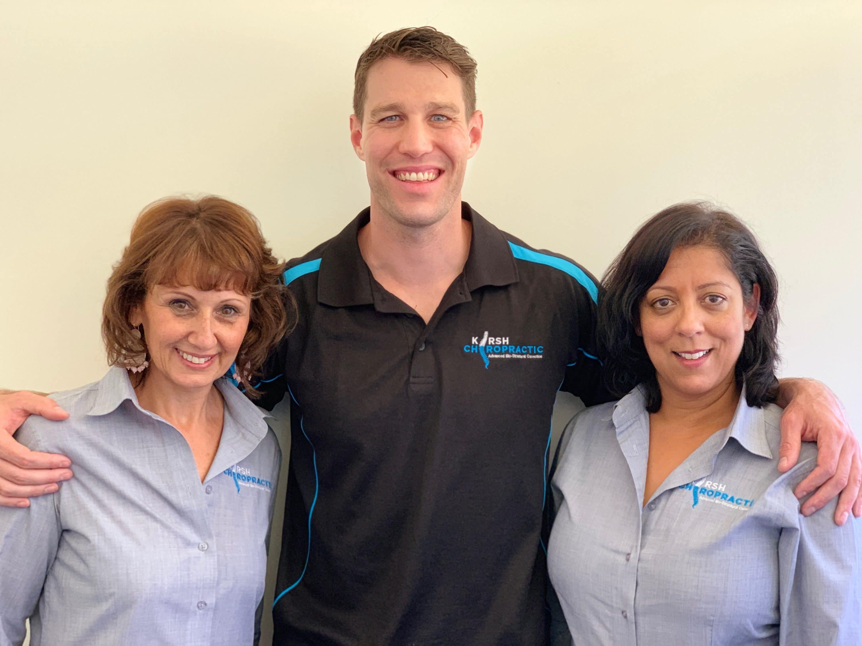 Meet the Kirsh Chiropractic team - Blackburn chiro